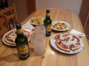 pizza and beer night