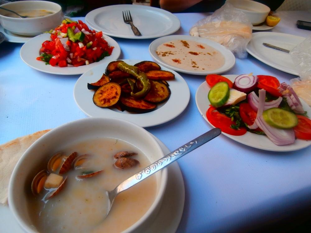 Lunch in Alexandria