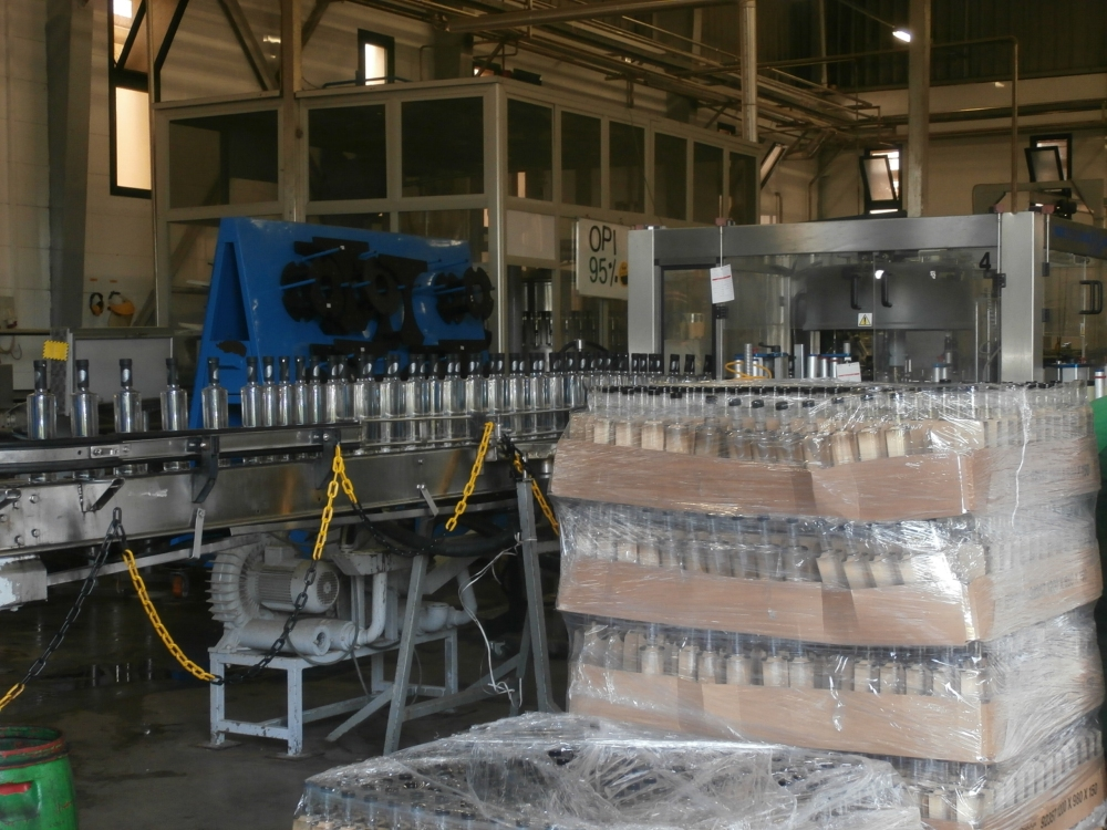 bottling facility