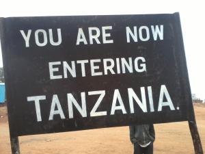 tanzania sign